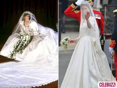 From wedding gowns to swimsuits, Princess Kate and the late Princess ...